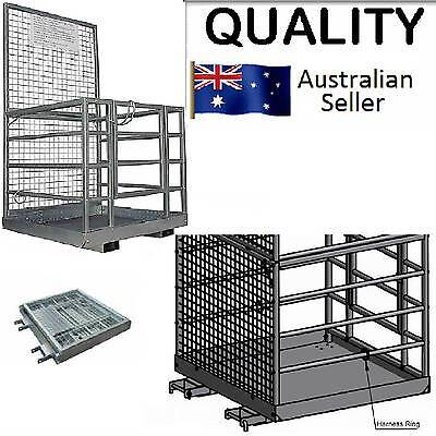 SAFETY CAGE  -Fully Compliant-  GST Inclusive WORK PLATFORM Forklift Safety Cage
