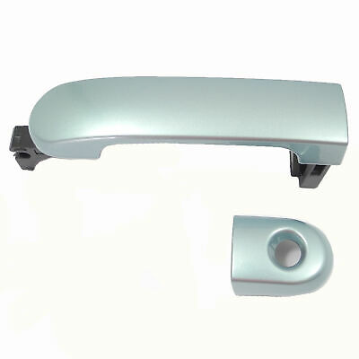 For Nissan Versa White QM1 07-12 Outside Door Handle w//Keyhole Front Left Driver