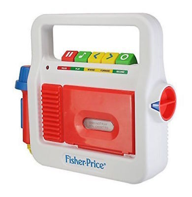 Fisher-Price Play Tape Recorder Open Box 1A