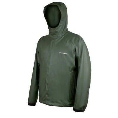 (X-Small, Green) - Grundens Neptune 319 Hooded Jacket. Shipping Included