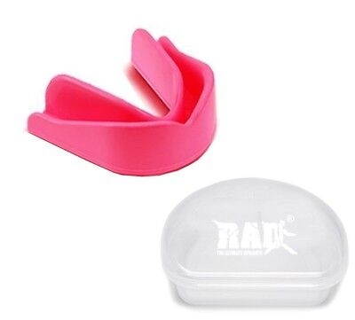 (Senior, Pink) - RAD Mouth Guard Gum Shield Grinding Teeth Protect For Boxing