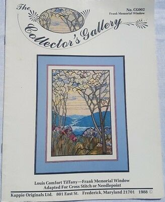 "Cross Stitch Pattern ""Frank Memorial Window"" by Collector's Gallery"