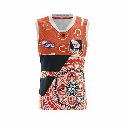 GWS Giants Indigenous Guernsey Sizes S - 7XL XBlades Greater Western Sydney 18