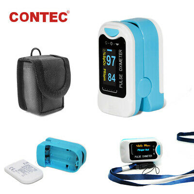 New Finger Pulse Oximeter Blood Oxygen SpO2 Heart Rate Portable Patient Monitor