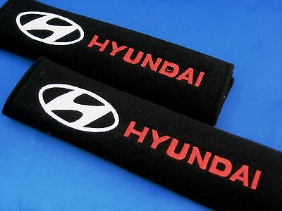 2x Seat Belt Cover Shoulder Pad Cushion for HYUNDAI i30 Excel Getz Accent Tuscon