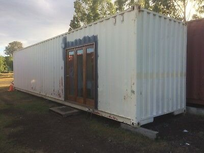 container shipping  40 ft high cube relocatable transportable