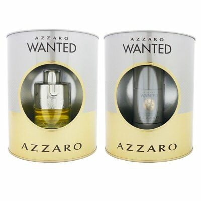 Azzaro Wanted Set 50 ml Eau de Toilette EDT & 75 ml Deostick Deo Stick Deodorant