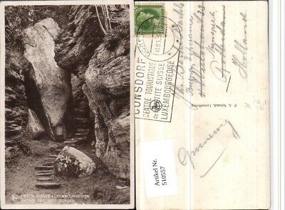 510557,Luxembourg Suisse Luxembourgeoise Entree des Sept Gorges Schlucht