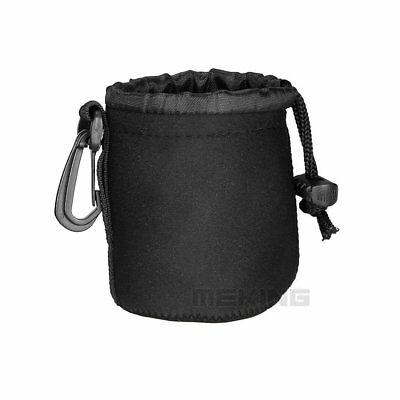 S Size Neoprene Soft Protective Camera Lens Pouch Packpack Carry Bag 8*10cm