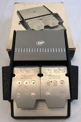 "Hudson Photographic Industries Vintage ""Quick Splice"" 8mm Cine Film Splicer"