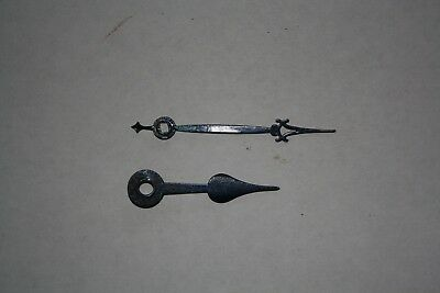 Black 80/59mm Antique/Vintage Clock Hands for Spares/Repair/Parts