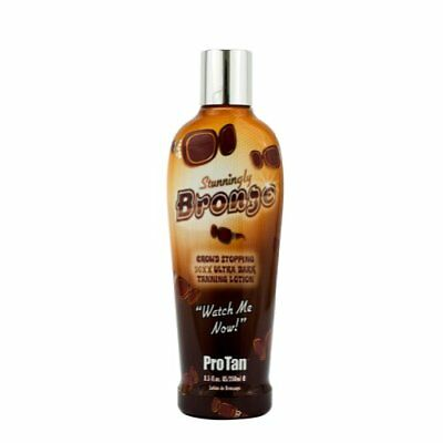 Pro Tan Stunningly Bronze Crowd Stopping 50xx Ultra Dark Tanning Lotion 250ml