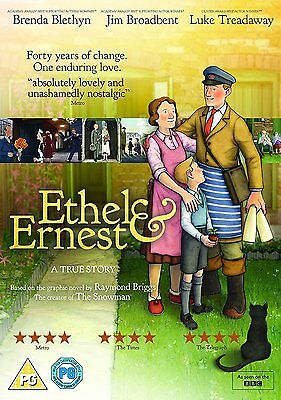 Ethel and Ernest A True Story DVD Brenda Blethyn New Sealed 5053083102272