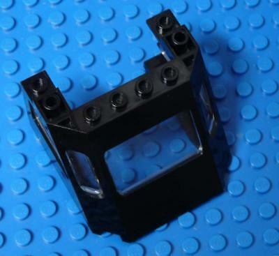 LEGO Train Front Sloping Top Black with Glass x1PC