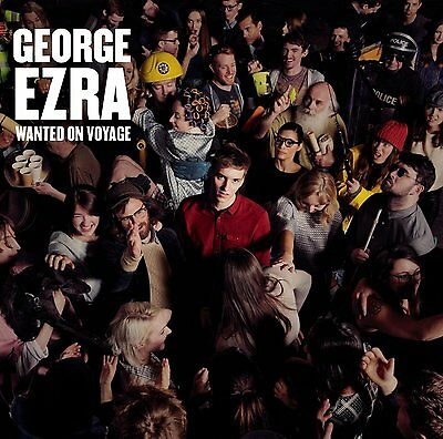 George Ezra - Wanted On Voyage  CD Album FREE UK POST Fast Post 0888430322523