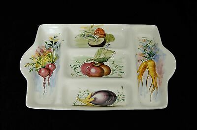 Mancioli Italy Five Section Serving Dish Plate 44.5 cm