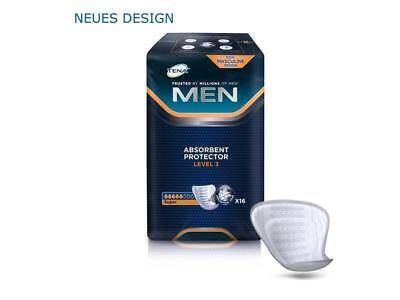 TENA Men Level 3 Discreet Protection - 6 Packungen / 6x16 = 96 Stück (1 Karton)
