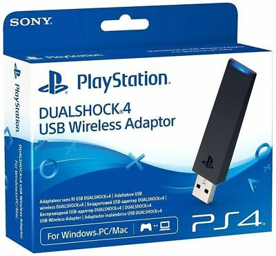 Sony PS4 Dualshock Wireless USB Adapter | PS4 Remote Play |