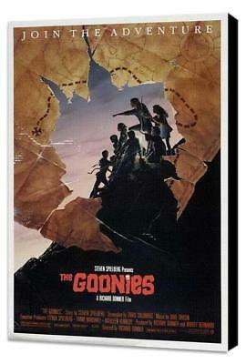 The Goonies Movie POSTER 11 x 17 Museum Wrapped Canvas, Sean Astin, E, USA NEW