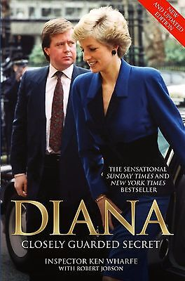 Diana: Closely Guarded Secret Paperback by Ken Wharfe Pre-Order 25th August