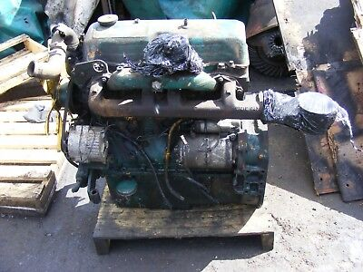 Ford 4 Cylinder D Series Engine (Running)