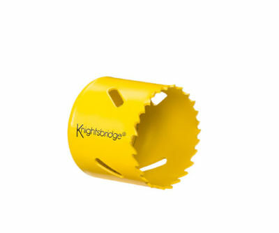 Knightsbridge Hs60Mm 60Mm Bi-Metal Holesaw Metal/plastic For Use With Hsarborl