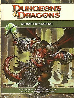 D&D-MONSTER MANUAL-CORE RULEBOOK-Nearly 500 fearsome and deadly monsters-engl.
