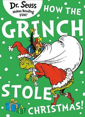 How The Grinch Stole Christmas Dr. Seuss New Paperback 9780007365548