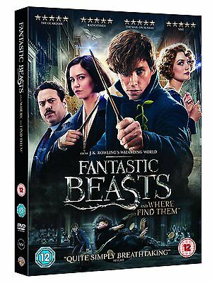 Fantastic Beasts and Where To Find Them DVD  Fast Post 5051892204156