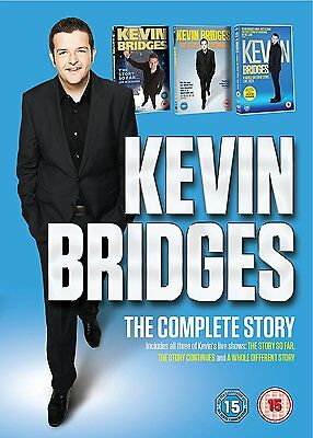 Kevin Bridges The Complete Story DVD Box Set Brand New & Seaed 5053083096625