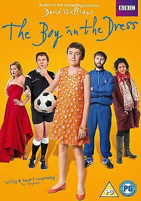 The Boy in the Dress - David Walliams - DVD - Brand New - 5051561040375