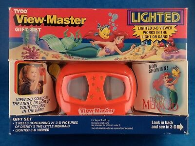 Unopened - THE LITTLE MERMAID - VIEWMASTER GIFT SET - Tyco 1992 Toy