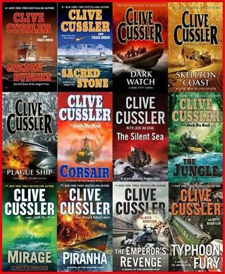(MP3-CD) The Oregon Files by Clive Cussler - 12 AUDIOBOOKS Unabridged