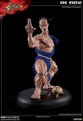 Pop Culture Shock PCS Street Fighter Oro Player 2 Exclusive 1/4 Statue