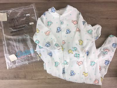 Vintage Carter's Unsex boy girls Size 6/9 month Footed Sleeper pjs Coveralls