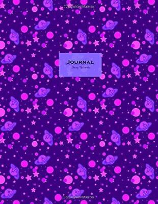 Journal (Diary, Notebook) - Celestial Purple: XL 8.5 x 11, lined (Journals To