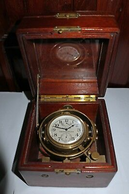 Hamilton Model 22. Marine Chronometer WWII