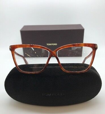 3a040113d73 TOM FORD TF 5267 053 WOMENS EYE GLASSES FRAMES 56-12-135 NEW w. Case ...