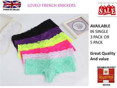 Single or Multi Pack womens knickers French Brazilian g string ladies knickers