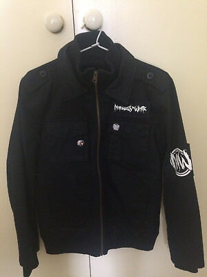 Motionless in White Infamous Black Zip Jacket - Size Small