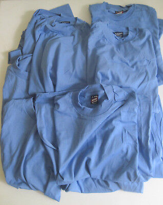 Lot Of 10 Vintage Fruit Of The Loom Best T-Shirts Size Small Blue 50/50 Blend