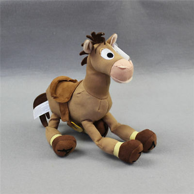 25cm Disney Store Toy Story Woody Horse Bullseye Plush Stuffed Toy Doll