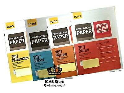 ICAS Past Papers - Introductory Year 2 - Cheapest Price $1 / paper