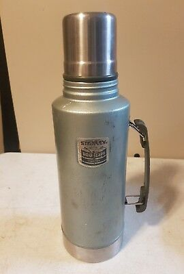 stanley 2 quart 100 years thermos good used 2013 green