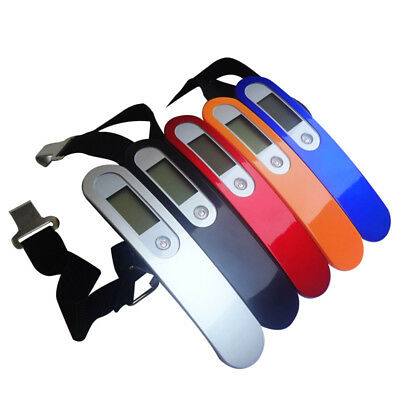 2019 FOR Travel  Luggage Scales Portable Tare 110lb LCD Hanging Digital Suitcase