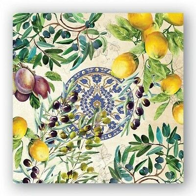 Tuscan Grove Luncheon Napkins by Michel Design Works. 3 Ply Paper Napkins