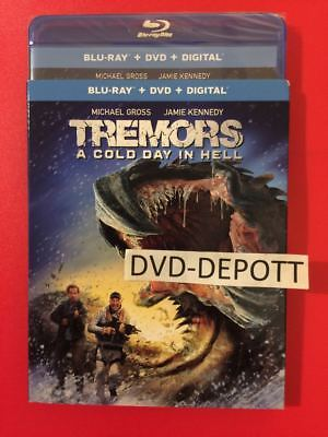 Tremors: A Cold Day In Hell Blu-ray & Slipcover New FAST Free Shipping NO TAX