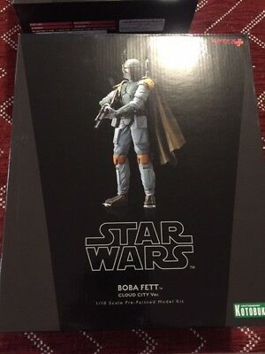 Star Wars Kotobukiya ArtFX+ Boba Fett Cloud City Version 1/10 scale model kit