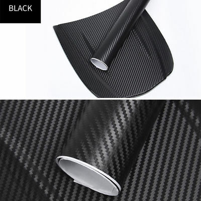 DIY 4D Carbon Matte Carbon Fiber Wrap Vinyl Decal Film Sticker Car Air Release