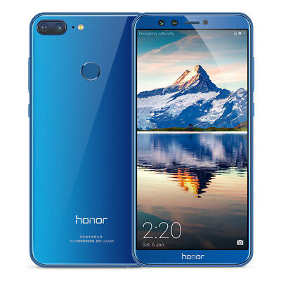 "Global 5.65"" Huawei Honor 9 Lite Android 8.0 4G Smartphone 3+32GB Touch ID 4Cam"